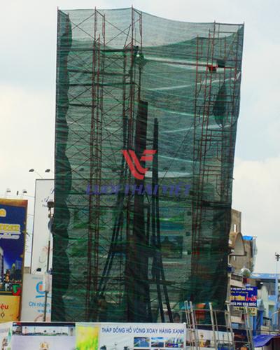 Lưới bao công trình